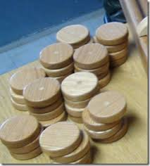 Dutch Game With Wooden Discs Dempsey Woodworking Sjoelbak shuffleboard 50