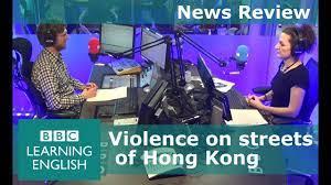 BBC News Review: Hong Kong riots - YouTube