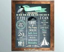 diy chalkboard wedding sign template this