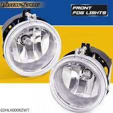 2010 Dodge Avenger Fog Light Bulb Details About For Dodge Challenger Charger Nitro Avenger Caliber Clear Lens Fog Lights 1 Pair