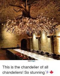 chandeliered