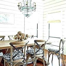 coastal dining room sets beach house table style living lighting