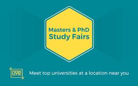 masters phd study fairs 2019