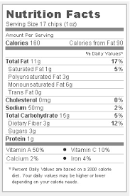 trader joe s ridge cut sweet potato chips nutritional facts