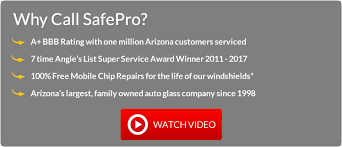find out why safepro is the 1 rated auto glass company in arizona