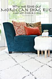 why we love our moroccan shag rug