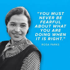 Famous Quotes Of Rosa Parks