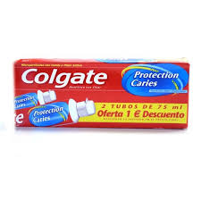 dentifrice colgate dentifrice 2 x 75 ml protection caries