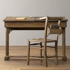 school desk. Picture Of Flip-top Reproduction School Desk For Child
