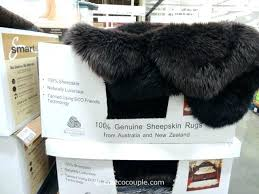 sheepskin rug costco 1