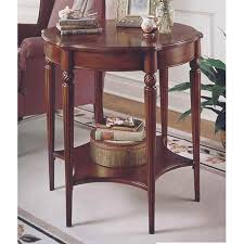 Cherry accent table Furniture Butler Specialty Company Plantation Cherry Accent Table Bellacor Butler Specialty Company Plantation Cherry Accent Table 0557024