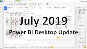 Power Bi Designer Download 32 Bit Power Bi Desktop July 2019 Feature Summary Microsoft Power