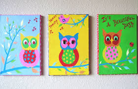 top painting ideas for kids on canvas