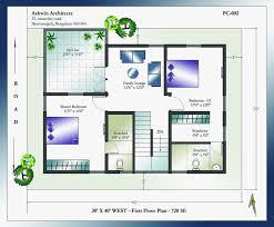 20 40 house plans fresh south facing house floor plans 20 40 30 40 east