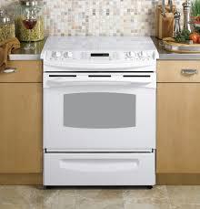 GE Profile 30 Slide In Electric Range PS968TPWW GE Appliances