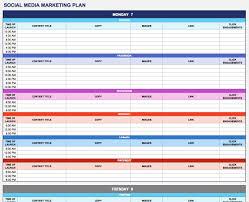 Marketing Planner Excel Template For Marketing Plan Under Fontanacountryinn Com