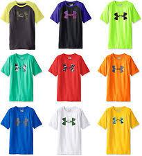 under armour shirts for boys. under armour boys\u0027 tech big logo t-shirt, 25 colors shirts for boys p