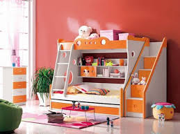 Bunk Beds Kids Cartoon Bunk Bed Double Stairs Manufacturer from