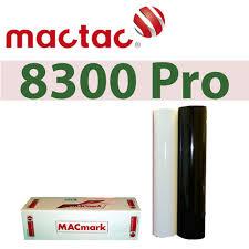 Mactac 8300 24 X 50yds Permanent Adhesive Vinyl Mt8300bw
