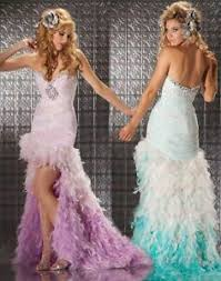 High to low sort by price: Mac Duggal Prom Dress High Low Hem Lilac Size 0 Ebay