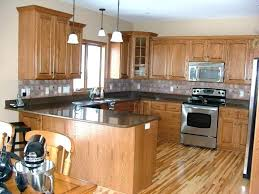 light cabinets dark kitchen traditional brown cabinet black high gloss wood wall colors countertops granite with whi
