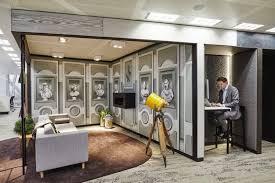Modern office interior design uktv Penson Example Of Flexible Office Interior Design Trend Belidigital Homes Luxury Builder Office Interior Design Ideas With Lay Back Working Theme