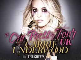 Carrie Underwood Announces Huge Uk Tour Including Birmingham