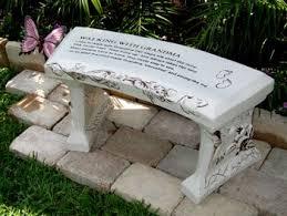 concrete garden bench. Concrete Benches Garden Bench