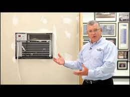 air conditioners through the wall