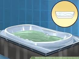 how to clean a jacuzzi bath tub image titled clean whirlpool tub jets with jetted tub how to clean a jacuzzi bath