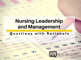 nursing leadership and management test