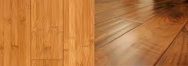 hardwood vs bamboo and cork flooring
