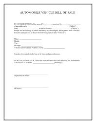 Sample Motorcycle Bill Of Sale Template Printable Sample Car Bill Of Sale Form Laywers Template 24