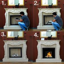 how to change a traditional fireplace into a bio ethanol fireplace ethanol fireplaces
