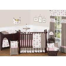 sweet jojo designs 11pc elephant crib
