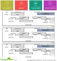 excel bill rent invoice template excel uk project management plan