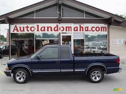 2000 Indigo Blue Metallic Chevrolet S10 LS Extended Cab #31712425 ...