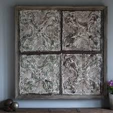 pressed metal furniture. Rustic Mint- Pressed Metal Panel Furniture T