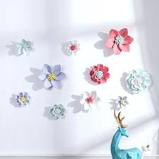 wedding background decorations cloths best party stage ceramic flower wall decor small