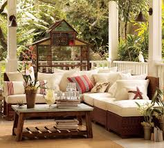 Pottery Barn Living Room Modern Farmhouse Outdoor Furniture House Decor