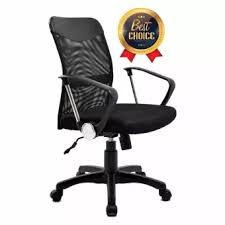 office chair images. AOF 5101 B - Ergonomic Office Chair (Kursi Kantor) Mid Back Hitam. Images