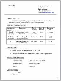 Resume Format For Freshers Free Download Doc Resume Resume