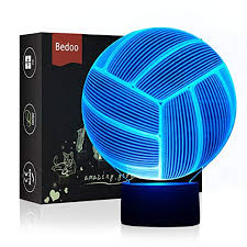 LED Night Light 3D Illusion Bedside Table Lamp 7 ... - Amazon.com
