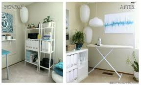 home office makeovers. Apartment Home Office Creative Workspace Makeover Before And After The Decor Guru Makeovers