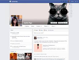 facebook profile page with cover photo. Wonderful Facebook New Profile Page From Facebook On With Cover Photo O