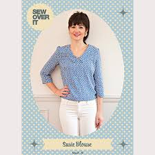 Blouse Sewing Pattern Awesome Sew Over It Susie Blouse PDF Sewing Pattern Sew Over It