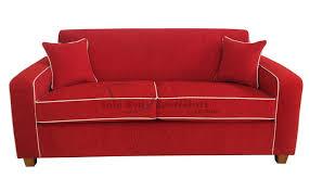 red white sofa. Delighful Sofa Sofabedretroinnerspringredwhitepiping For Red White Sofa C