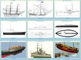 free ship model plans drawings
