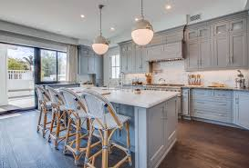 fine blue gray cabinets what are your thoughts of this new wave of color for kitchen blue cabinet kitchen lighting