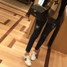 gucci shoes black and white. shoes gucci ace sneakers white low top jeans ripped black and c